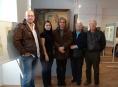 Šumperské muzeum navštívil Victor Arleth, synovec umělce Kurta Halleggera