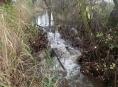 Hasiči v Šumperku řešili problém s bobří hrází