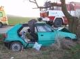 Hasiči během včerejška zasahovali u pěti dopravních nehod