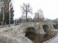 Svatojánský most v Dlouhé Loučce byl znovu otevřen