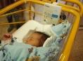V babyboxu FN Olomouc byla nalezena čerstvě narozená holčička