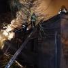 Požár rodinného domu v Bludově    zdroj foto:HZS Ok