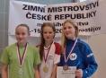 Plavkyně Leona Lysáková získala zlato na mistrovství České republiky