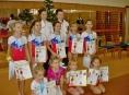Šumperské gymnastky zakončily rok a přivezly cenné medaile