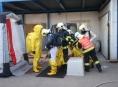 V Medlově uniklo tisíc litrů čpavku