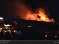 AKTUALIZOVÁNO.V Olomouci hořel autoservis