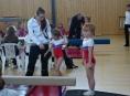 Šumperské sportovní gymnastky závodily ve Valašském Meziříčí