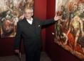 Šumperský malíř Bartoš vystavuje figurální tvorbu v Olomouci