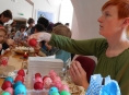 Vejce na velikonoční akci v Šumperku doputovala i ze Slovenska