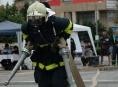 V Olomouci se koná soutěž o nejtvrdšího hasiče