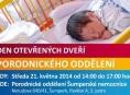 Šumperská porodnice otevře své dveře budoucím maminkám