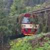 Popadané stromy - železniční trať Staré Město    zdroj foto:HZS Ok