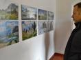 Olomoucký fotograf  Miroslav Kolář vystavuje v šumperské Galerii mladých