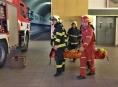 Šumperští profesionální hasiči zasahovali na PVE Dlouhé Stráně