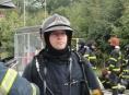 Hasič z Olomouce, Jiří Glabazňa, pomáhal při povodních v Srbsku