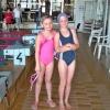 Zábřežské plavkyně Iva a Michaela uspěly v Karviné  zdroj foto:oddíl