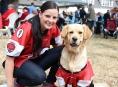 Hráči a příznivci amerického fotbalu pomohli psím útulkům