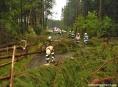 Nedělní bouřky si vyžádaly stovky výjezdů hasičů