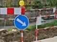 Dopravní situaci v Šumperku zkomplikuje výměna kanalizace