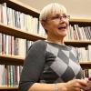 Olga Kaštická - zahájení Město čte knihu 2014  zdroj foto:K.Šeligová