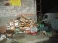 Nelegální sklad potravin v Bruntále je od Šumperku vzdálen necelých 56 kilometrů