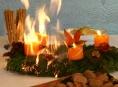 Od požáru adventního věnce můžete přijít o vše!