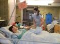 Šanci na zlepšení stavu mají desítky pacientů oddělení ARIP Šumperské nemocnice