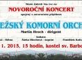 Zábřeh vstoupí do roku 2015 novoročním koncertem