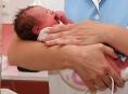 První novoroční miminko v Olomouci se narodilo 135 minut po půlnoci
