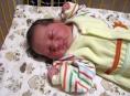 Eliška je prvním miminkem 2015 v šumperské porodnici