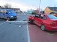 Řidička v Javorníku zavinila vážnou nehodu