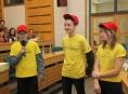 Školáci vytvořili müsli tyčinku s příchutí štrúdlu