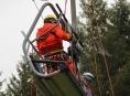 Horská služba pomáhala s evakuací dětí z lanové dráhy