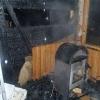 Zábřeh - požár zahradní chatky      foto: HZS Ok
