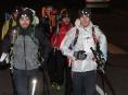 Závodníci extrémní Zimní výzvy mají za sebou první noc