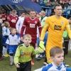 Šumperská fotbalová mládež doprovází Spartu na Bazaly   foto:šumpersko.net