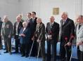 Veteráni druhé světové války převzali medaile
