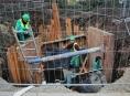 Budou kanalizační sítě za 1,6 miliardy hotové včas?