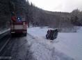 Pomoc hasičů v pátek 13. ledna v Olomouckém kraji