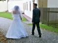 Módní přehlídka svatebních šatů v šumperském muzeu
