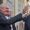 prezident Miloš Zeman v Šumperku    foto: sumpersko.net
