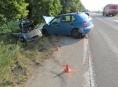 Zranění tří osob si vyžádala dopravní nehoda mezi Zábřehem a Postřelmovem