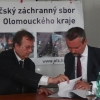 Olomouc - podpis mlouvy                  zdroj foto: HZS Ok