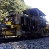 Požár kolejového vozidla - Střeň             zdroj foto: Drážní inspekce