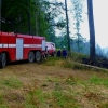 Dlouhomilov - požár porostu              zdroj foto: HZS Ok