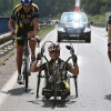 Handbike – Hendikepovaní závodníci budou mít za úkol překonat první úsek časovky   zdroj foto: V. Sobol