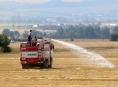 Sedm požárů na polích během pondělí v Olomouckém kraji