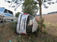Opilí řidiči bourali v Medlově a Sudkově