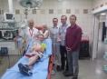 Hračka Kryštůfek pomáhá dětem i ve FN Olomouc