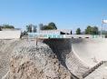 Skatepark v Šumperku nabral výrazné zpoždění